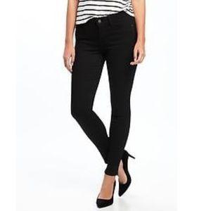 EUC Express black skinny jeans sz 0